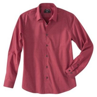 Mossimo® Mens Button Down   Red Hot