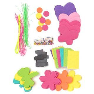 Bug & Flower Magnets Craft Kit (Makes 24): Toys & Games