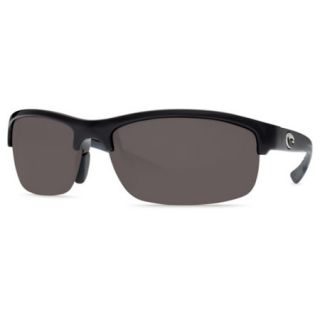 Costa Del Mar Indio Sunglasses   Black Frame with Gray 580P Lens 692274