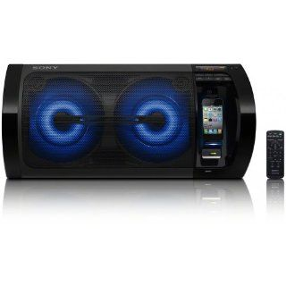 Sony RDH GTK11IP Musiksystem mit Apple iPod/iPhone Dockingstation (230 Watt RMS, DSGX Bass Verst�rker, USB) schwarz Heimkino, TV & Video