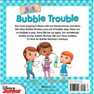 Doc McStuffins Bubble Trouble: Includes Stickers!: Disney Book Group, Sheila Sweeny Higginson, Disney Storybook Art Team: 9781423164548:  Kids' Books