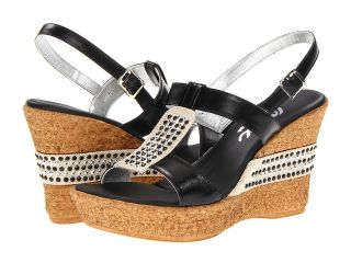 Onex Daniela Womens Wedge Shoes (Black)