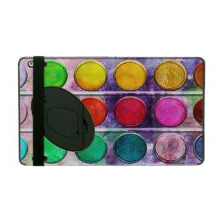 Fine Art Fun Colourful Paint Colour Box iPad Case