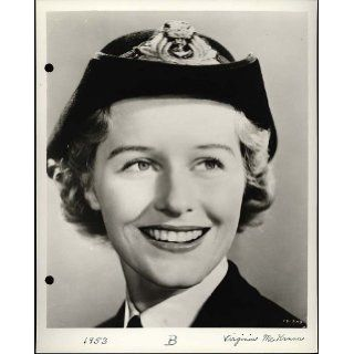 """Virginia McKenna""   (as a Royal Navy WREN) ""The Cruel Sea"" Actress (Original Universal Keybook Photo): Virginia McKenna, Mary Chesrown: Books"