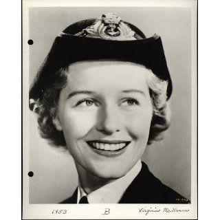 """Virginia McKenna""   (as a Royal Navy WREN) ""The Cruel Sea"" Actress (Original Universal Keybook Photo): Virginia McKenna, Mary Chesrown: Books"