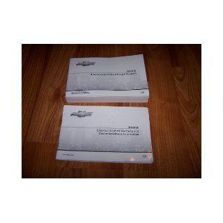 2012 Chevrolet Tahoe Suburban Owners Manual Chevrolet Books