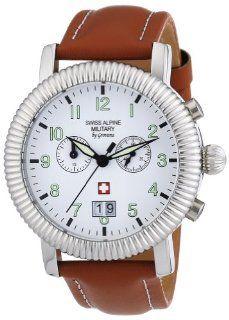 Swiss Alpine Military Men's Quartz Watch AV288 2880.9533SAM with Leather Strap Watches