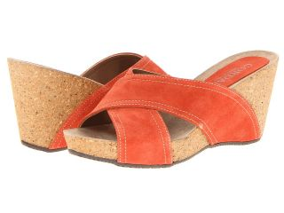 Cordani Adriana Womens Wedge Shoes (Orange)