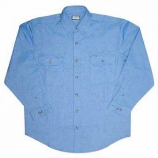 CLOTHING FORTRES FP291BLU 2XL LONG SLEEVE CHAMBRAY SHIRT   XXL BLUE at  Men�s Clothing store