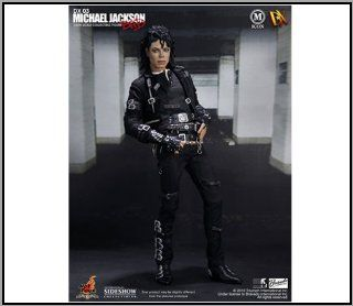 "Hot Toys Movie Master Piece Michael Jackson 'BAD' 12"" FIgure MISB Toys & Games"