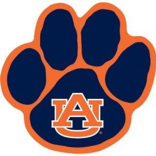 AUBURN TIGERS OFFICIAL PAW LOGO CAR MAGNET  Sports Fan Automotive Magnets  Sports & Outdoors