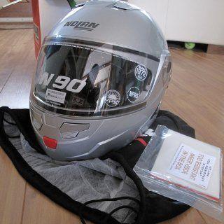 Nolan N90 Helmet (Flat Black, X Small) Automotive