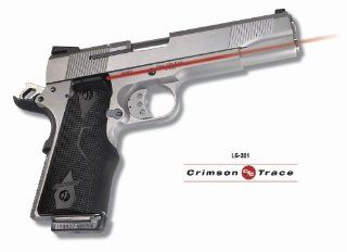 Crimson Trace Lasergrip   Colt Government   LG 301  Gun Grips  Sports & Outdoors