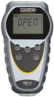 Oakton WD 35426 00 Temp 14 Thermistor Thermometer,  40 to 302�F: Science Lab Thermometer Accessories: Industrial & Scientific