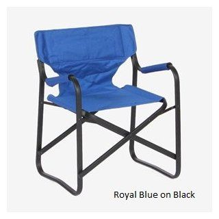 Sophiste Black Magic Chair (Royal Blue) BLACKMAGIC SOPHISTE ALUMINUM CHAIR WITH A THERMOPLASTIC CARBON GRAPHITE POWDER COATING. tHIS CUTTING EDGE PROCESS PRODUCES A COATING WHICH IS ABRASION RESISTANT AND TOUGH. the cover is a outdoor high performance fabr