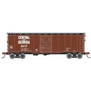 Atlas Central of Georgia (1960s) #4117 ARA Boxcar HO Scale Freight Car: Toys & Games