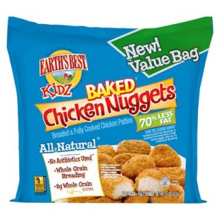 Earths Best Kidz All Natural Baked Chicken Nugg