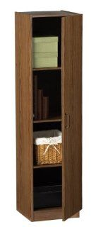 Shop Ameriwood Single Door Pantry at the  Furniture Store. Find the latest styles with the lowest prices from Ameriwood