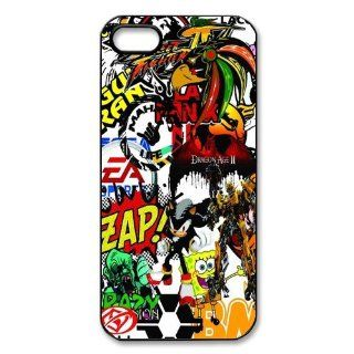 Personalized JDM Sticker Bomb Hard Case for Apple iphone 5/5s case AA308: Cell Phones & Accessories