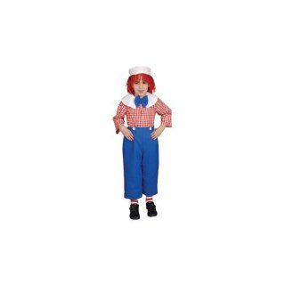 Pretend Rag Doll Boy Child Costume Dress Up Set Size 8 10 Toys & Games