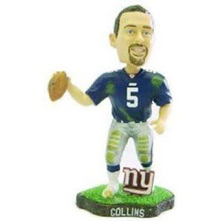 Kerry Collins Game Worn Forever Collectibles Bobblehead  Sports Fan Bobble Head Toy Figures  Sports & Outdoors