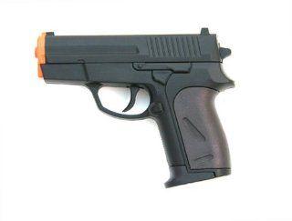 CYMA P817 Metal Core Spring Airsoft Pistol Gun 11 Scale Glock Style, Police Gun  Sports & Outdoors
