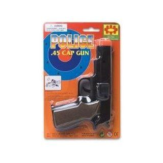 Kids Toy Police .45 Cap Gun Pistol 6.75 inch (1 Dozen): Everything Else