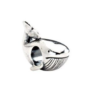 Kera Whale Bead/Sterling Silver: Charms: Jewelry