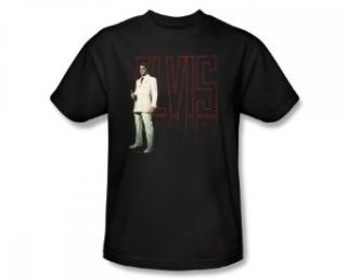 Elvis Presley White Suit Adult Shirt ELV608 AT Clothing