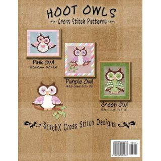 Hoot Owls Cross Stitch Patterns: Tracy Warrington, StitchX: 9781479252237: Books