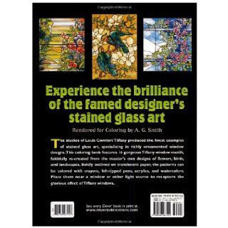 Tiffany Designs Stained Glass Coloring Book (Dover Design Stained Glass Coloring Book) A. G. Smith 9780486267920  Children's Books