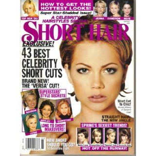 Celebrity Hairstyles Short Hair Magazine (Spring, 1999): Various: Books