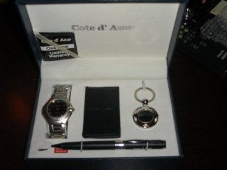 Cote D' Azur Watch, Money Clip, Key Chain, and Pen Set: Everything Else
