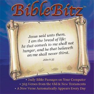 BibleBitz   365 Daily Bible Verses   Designed to Load onto Your Computer and Deliver a Different Bible Verse Every Day on your Computer Screen Software