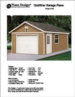 18 x 24 garage shop plans materials list blueprints for 18 x 20 garage plans