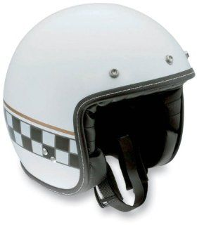 AGV RP60 Cafe Racer Helmet , Size: Lg, Primary Color: White, Helmet Category: Street, Distinct Name: Multi White Cafe Racer, Gender: Mens/Unisex, Helmet Type: Open face Helmets 110152C0002009: Automotive
