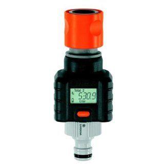 Gardena Digital Electronic Water Smart Flow Meter for Garden Hose Watering  Patio, Lawn & Garden