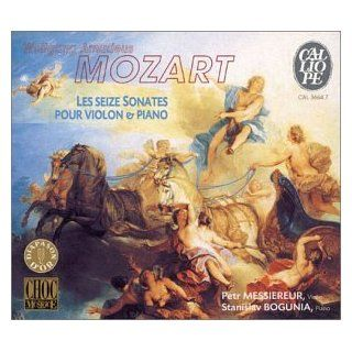 Wolfgang Amadeus Mozart: The Sixteen Sonatas for Violin and Piano   Petr Messiereur / Stanislav Bogunia: Music