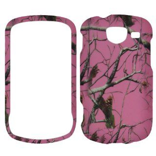 Samsung U380 Brightside Verizon   Camo Camouflage Pink Rubberized Finish Hard: Cell Phones & Accessories