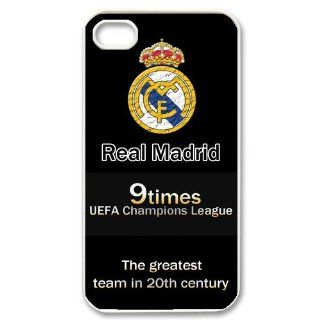 MLB Series Real Madrid Case Cover for Iphone 4/4s  1la382: Cell Phones & Accessories