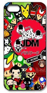 JDM Sticker Bomb Hard Case for Apple Iphone 5/5S Caseiphone 5 390: Cell Phones & Accessories