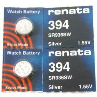 #394 Renata Watch Batteries 2Pcs Watches