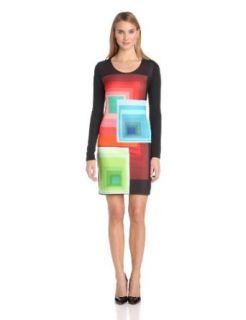 Desigual Women's Ymanga long Sleeves Dress at  Women�s Clothing store: Dresses
