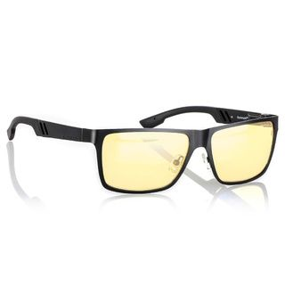 Gunnar Vinyl Onyx Amber Full Rim Ergonomic Advanced Computer Glasses