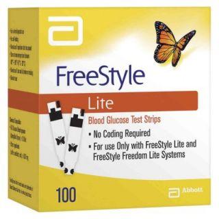 FreeStyle Lite Blood Glucose Test Strips   100 C