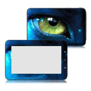 Bundle Monster Velocity Micro Cruz T103 Tablet Vinyl Skin Art Decal Sticker Protector Accessories   Avatar Eyes Computers & Accessories