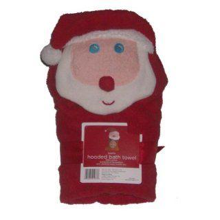 Santa Claus Hooded Kids Bath Towel Cotton Christmas