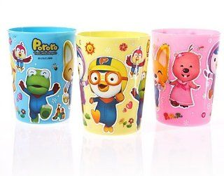Pororo nano silver Water Cup 3P Set : Colloidal Silver Mineral Supplements : Baby