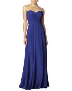 Long Sweetheart Bridesmaid Formal Gown Maxi Dress Evening Dresses For Girls Women Blue 24 Special Occasion Dresses