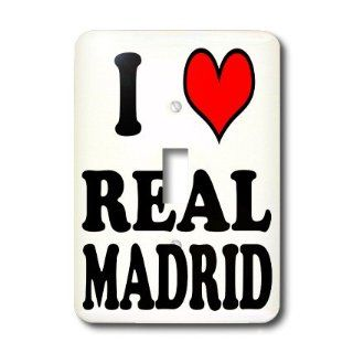 lsp_159633_1 EvaDane   Funny Quotes   I love REAL MADRID. Soccer. Spanish Soccer Team.   Light Switch Covers   single toggle switch   Wall Plates